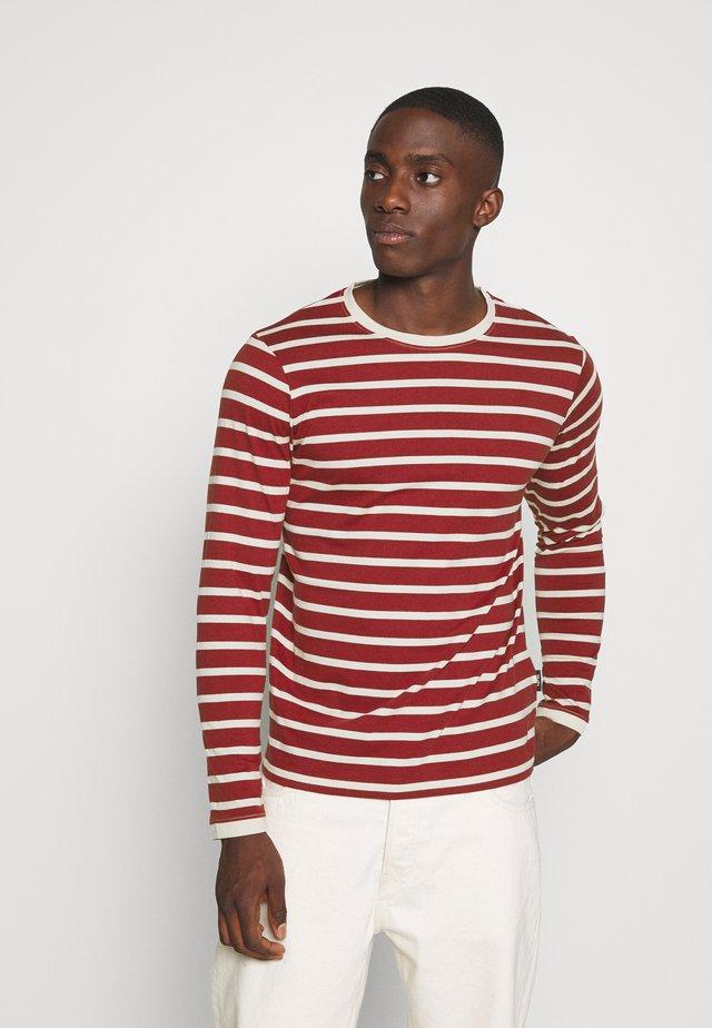 DONALD - T-shirt à manches longues - merlot