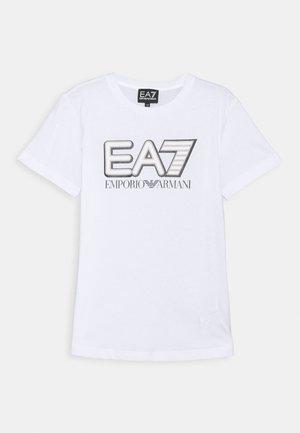 EA7 - T-shirt con stampa - white