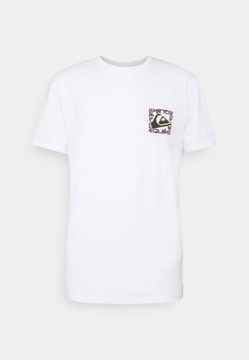 Quiksilver - ISLE OF STOKE - Print T-shirt - white