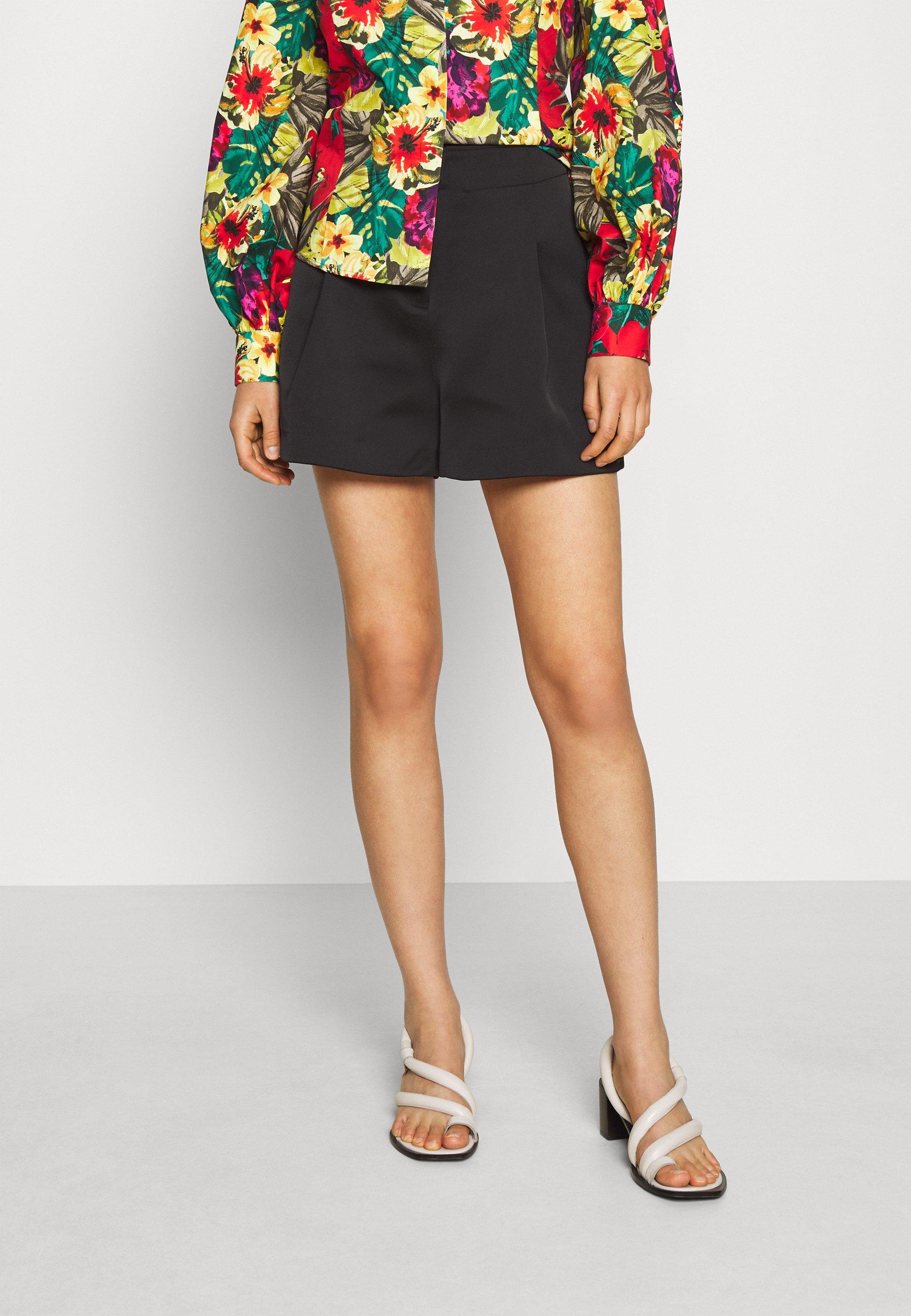 Affordable Women's Clothing Stella Nova NADINE Shorts black CPlu4izUd