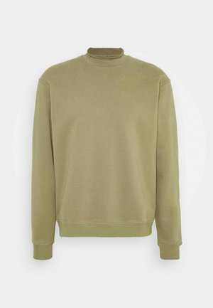 SOFT TERRY MOCK - Sweatshirt - martini olive