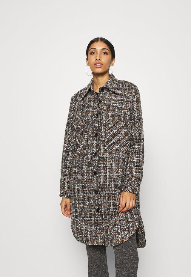 YASTAWA JACKET - Classic coat - black