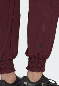adidas by Stella McCartney - CF MACCARTNEY TRAINING WORKOUT PANTS - Pantalones deportivos - burgundy - 5
