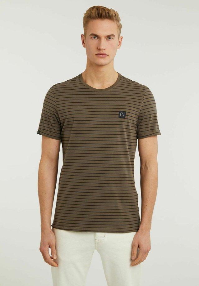 SHORE - T-shirt con stampa - green