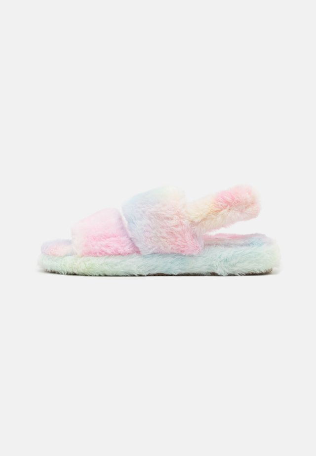 Pantuflas - multicoloured