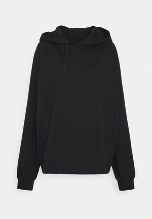 BASIC CROPPED HOODIE  - Sweat à capuche - black