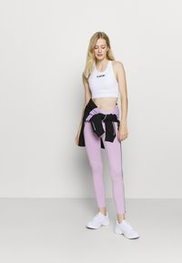 Pink Soda - CONGO TAPED - Leggings - lilac melange - 1