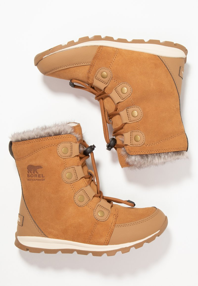 Sorel - YOUTH WHITNEY - Lace-up ankle boots - elk/natural