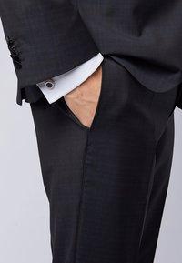 BOSS - SIMONY MIT RUNDEM VERSCHLUSS - Cufflinks - black - 0