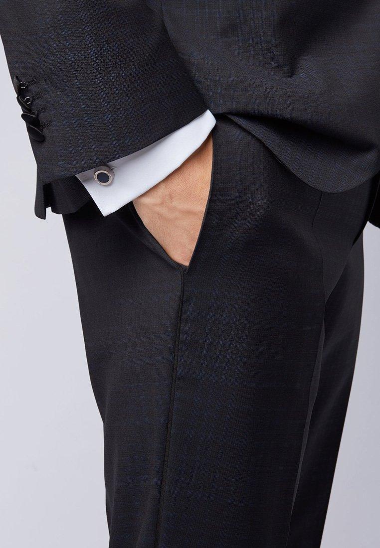 BOSS - SIMONY MIT RUNDEM VERSCHLUSS - Cufflinks - black