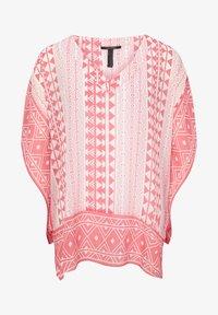 pink geometric print