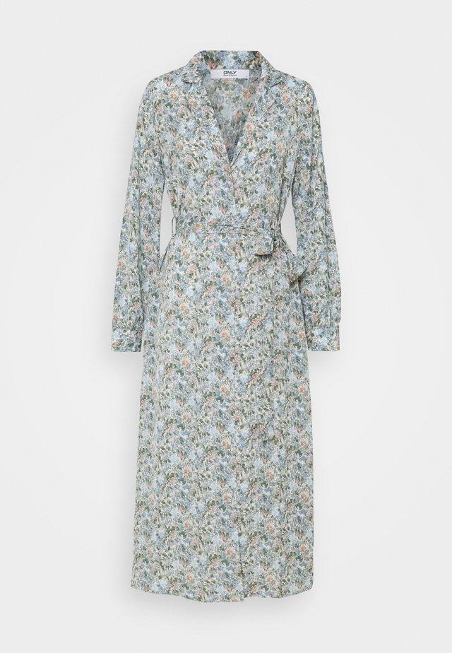 ONLKENDALL DRESS - Korte jurk - pumice stone/blue