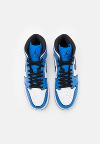 Jordan - AIR 1 MID SE - Höga sneakers - signal blue/black/white - 3