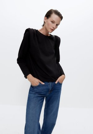 MIT RAFFUNGEN - Long sleeved top - black