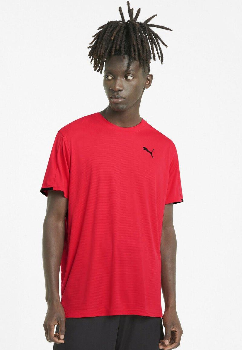 Puma - GRAPHIC  - Print T-shirt - poppy red