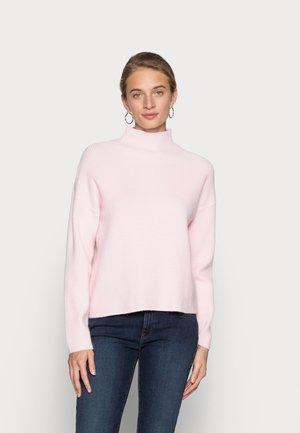 SLFCLAIRE HIGHNECK - Jumper - chalk pink