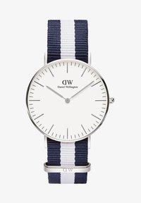 Daniel Wellington - CLASSIC GLASGOW 36MM - Watch - white, blue, silver - 0