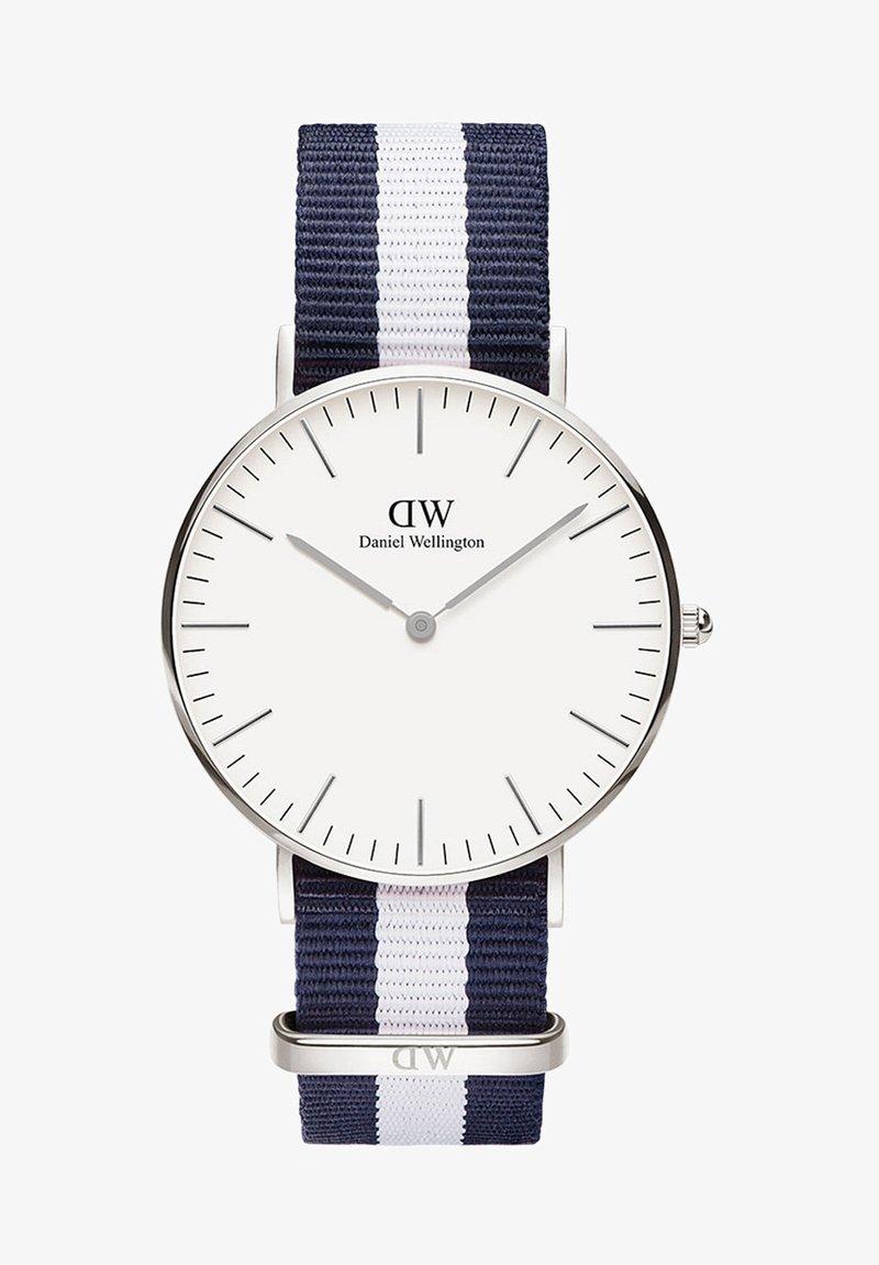 Daniel Wellington - CLASSIC GLASGOW 36MM - Watch - white, blue, silver