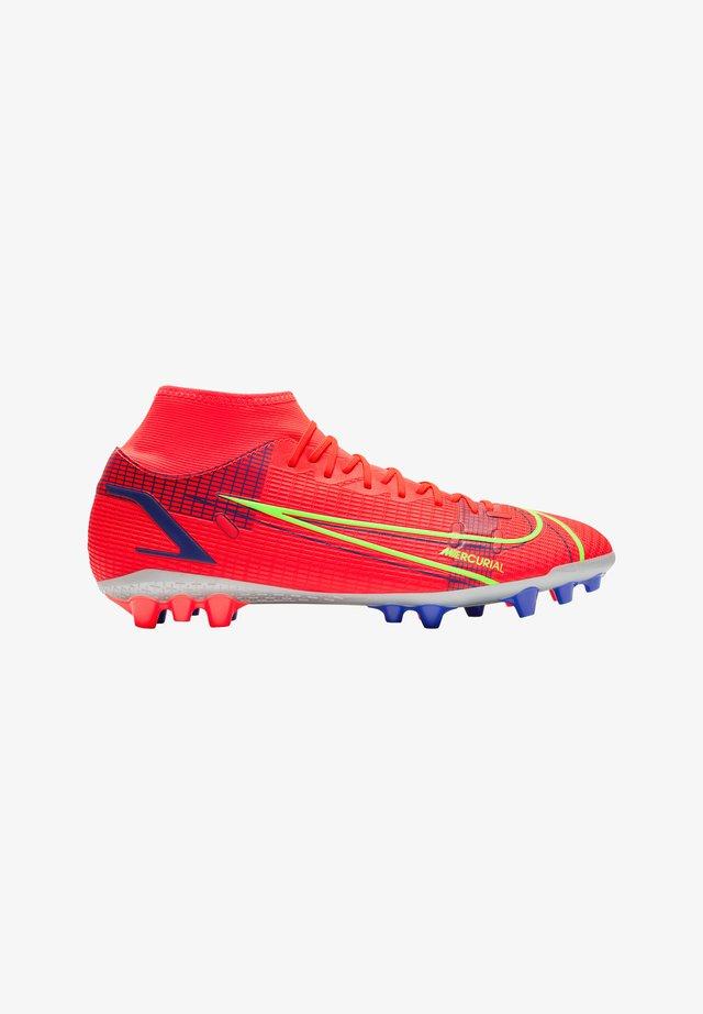 Moulded stud football boots - rotsilber