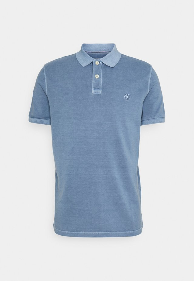 SHORT SLEEVE BUTTON PLACKET - Poloshirts - kashmir blue