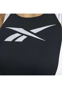 Reebok - WORKOUT READY LOW-IMPACT SPORTS BRALETTE - Sports bra - black - 4