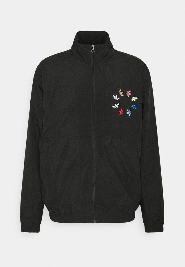Training jacket - black/multicolor