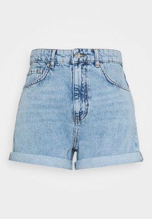 DAGNY MOM SHORTS - Shorts - blue denim