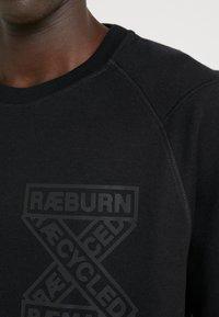 Raeburn - CREW - Felpa - black - 4