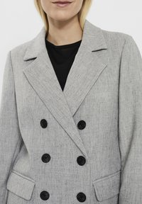 Vero Moda - Manteau court - light grey melange - 2