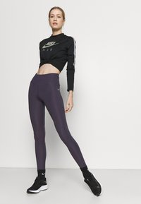 Nike Performance - EPIC FAST - Collant - dark raisin/silver - 1
