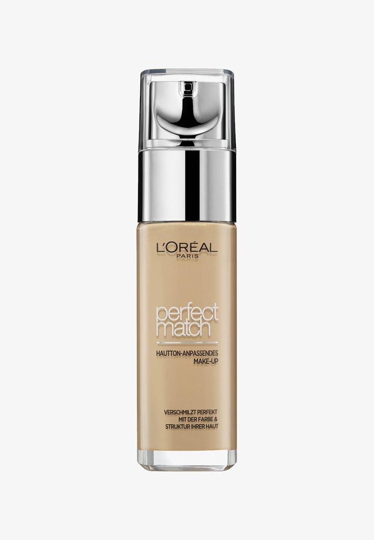 L'Oréal Paris - PERFECT MATCH MAKE-UP - Foundation - 3w golden beige