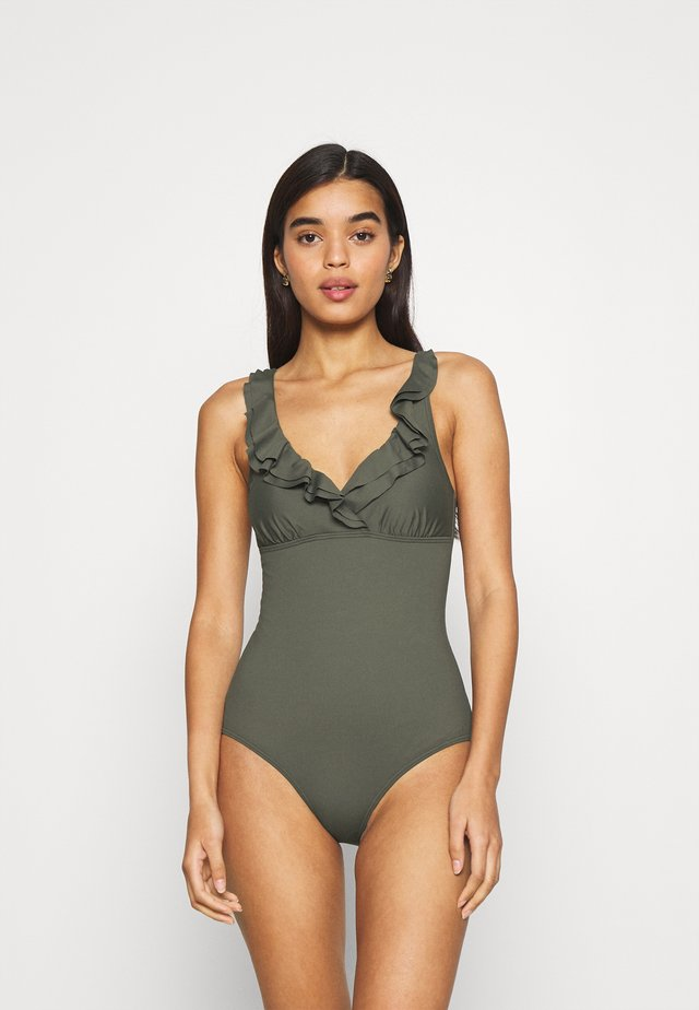 SWIMSUIT - Badedragter - olive green