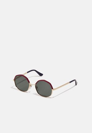 UNISEX - Sunglasses - red/gold