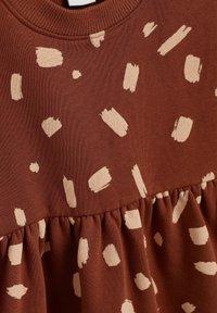 Next - BALLOON SLEEVE - Day dress - brown - 2