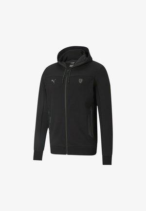 FERRARI STYLE - Sweat à capuche zippé - black