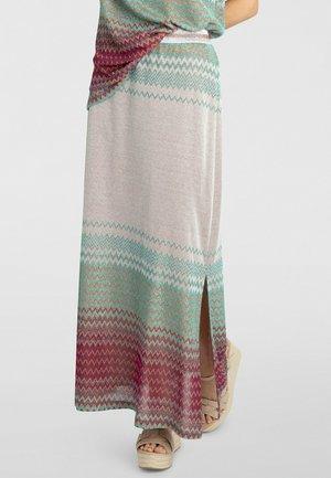 Jupe longue - puder-multicolor