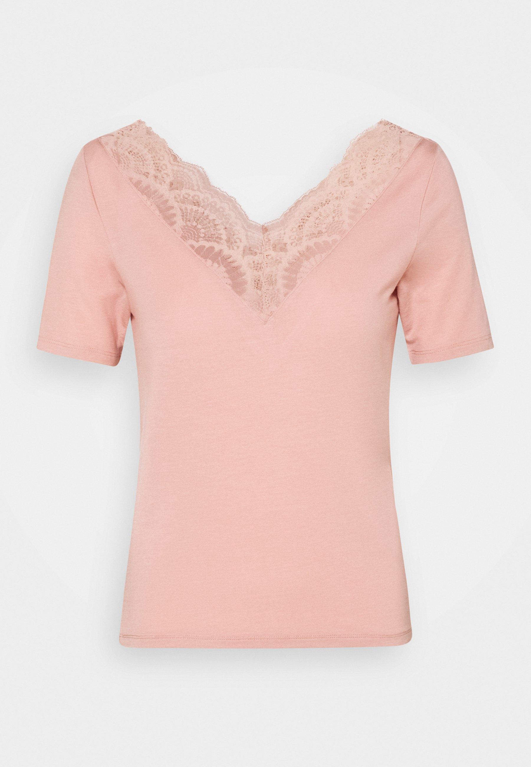 Damen VMAVA VNECK PETITE - T-Shirt print