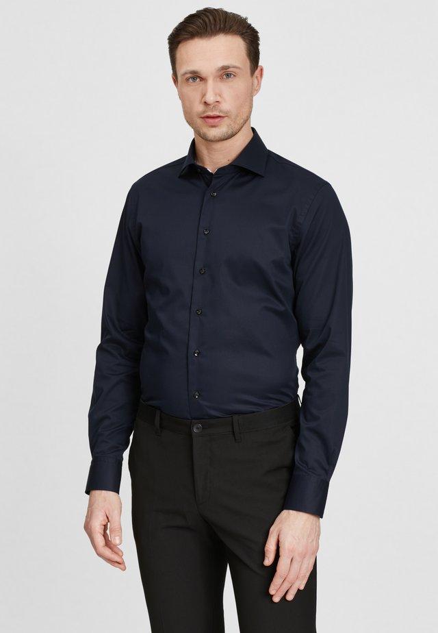 SLIM FIT  - Zakelijk overhemd - navy