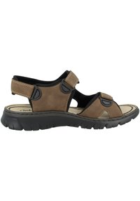 Rieker - Walking sandals - almond-black-black - 4