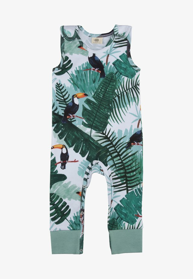 TROPICAL TUCANS - Jumpsuit - green