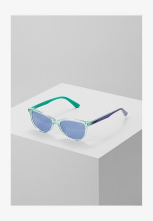SUNGLASS KID ACETATE - Sunglasses - light blue/violet blue
