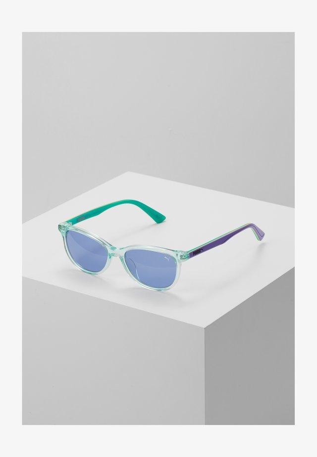 SUNGLASS KID ACETATE - Sluneční brýle - light blue/violet blue