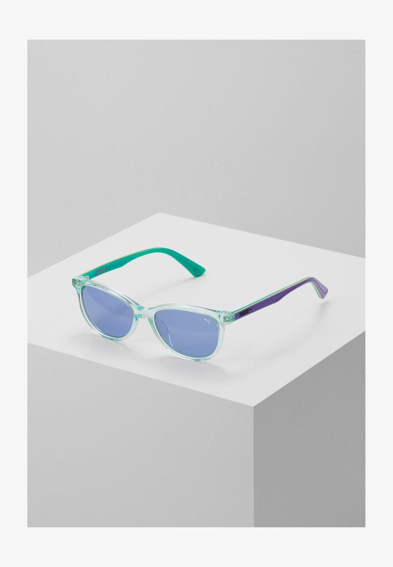 Puma - SUNGLASS KID ACETATE - Sluneční brýle - light blue/violet blue