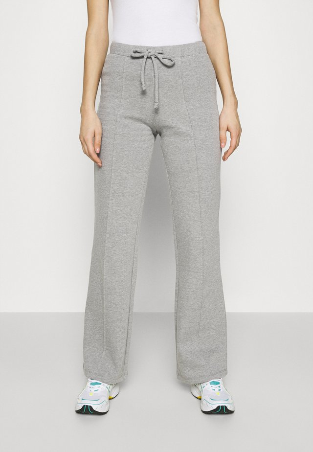 DRAWSTRING TROUSER - Bukse - heather grey