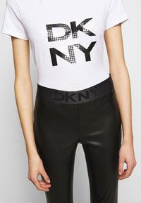 DKNY - PULL ON  - Leggings - Trousers - black - 5