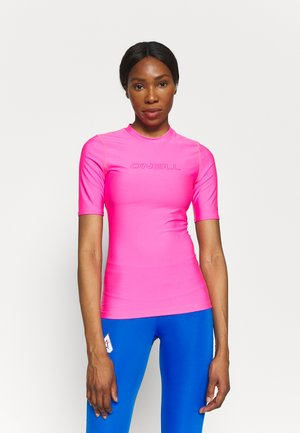 BIDART SKIN - Rash vest - rosa shocking