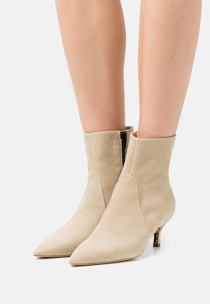 Furla - CODE BOOT  - Classic ankle boots - juta