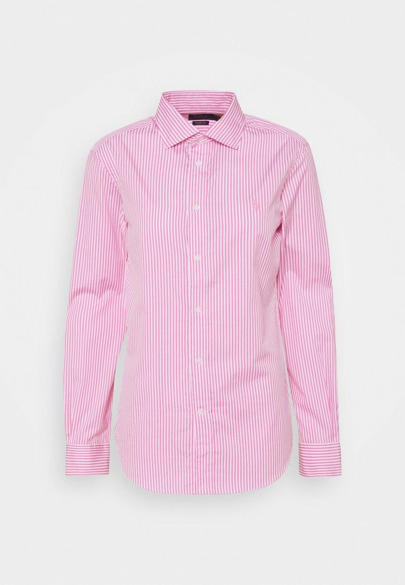 Polo Ralph Lauren - GEORGIA LONG SLEEVE - Košile - beach pink/white