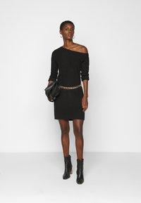 Even&Odd Tall - Jumper dress - black - 1