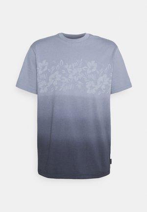 LASER PRINT TEE - T-shirt z nadrukiem - blue